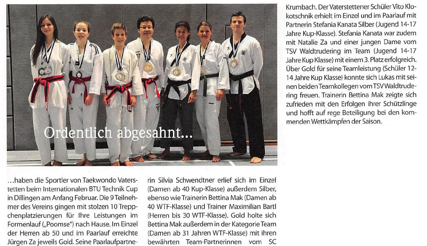 Vaterstetten Taekwondo